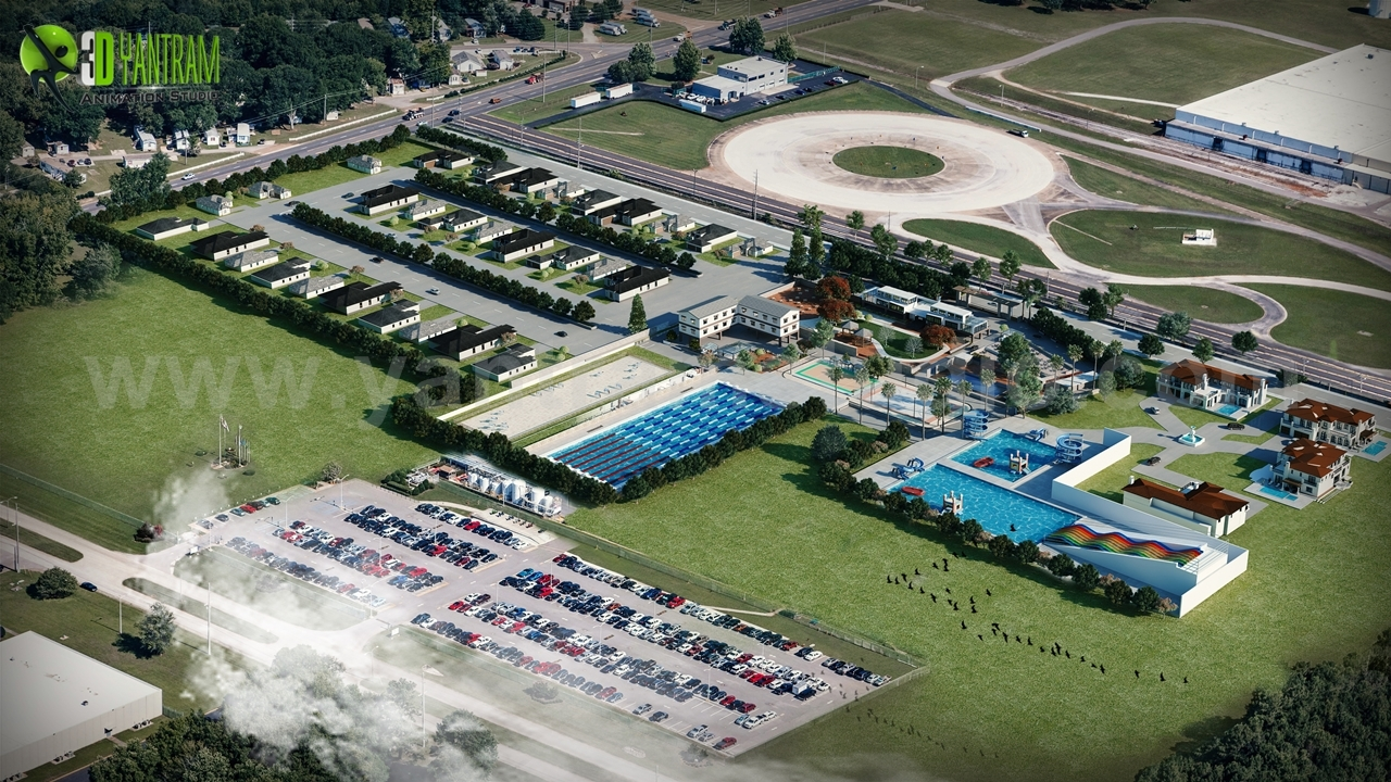 Build an Effective Aerial view by 3d animation by yantramstudio