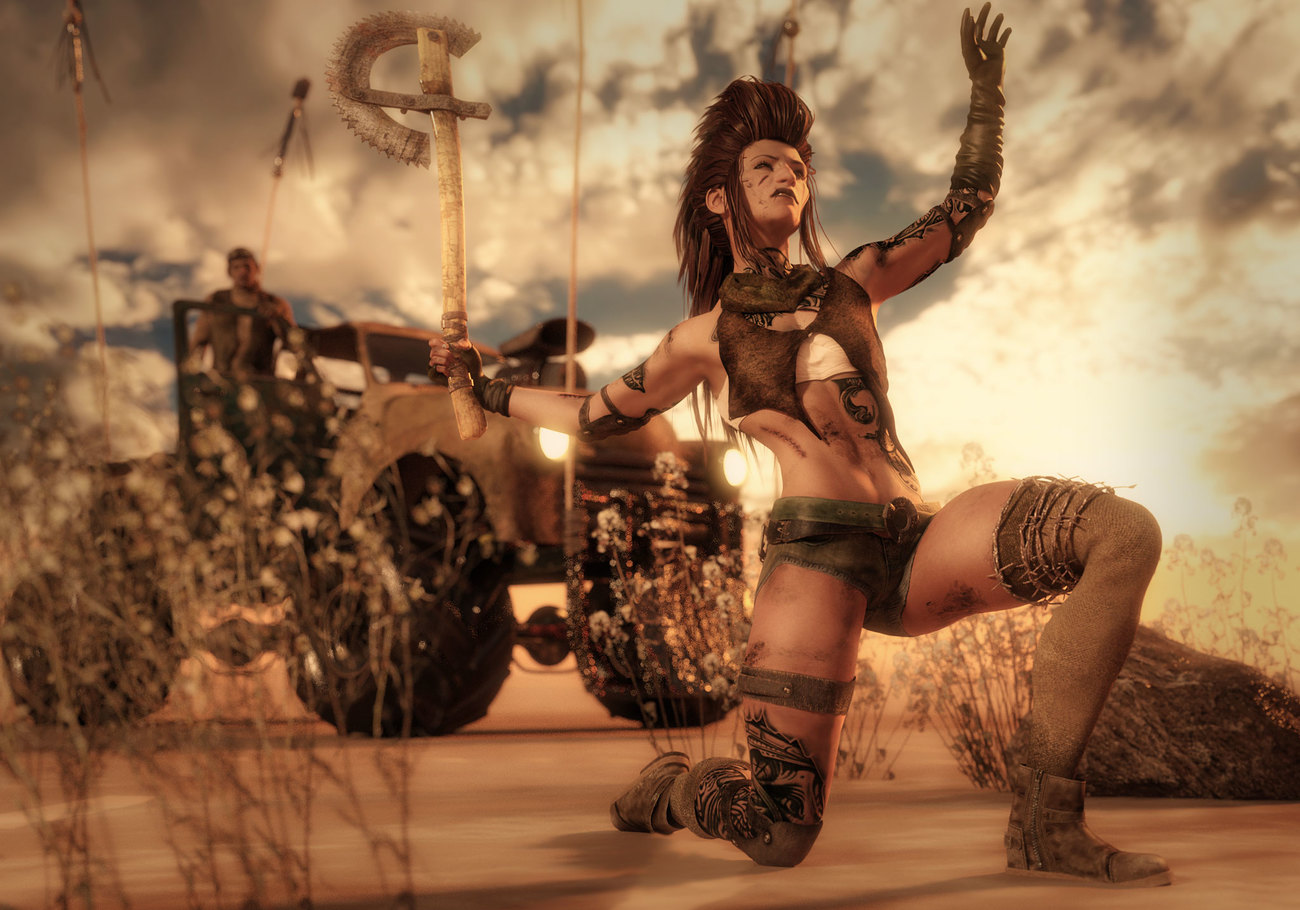 Post Apocalyptic Victory by dollmommy
