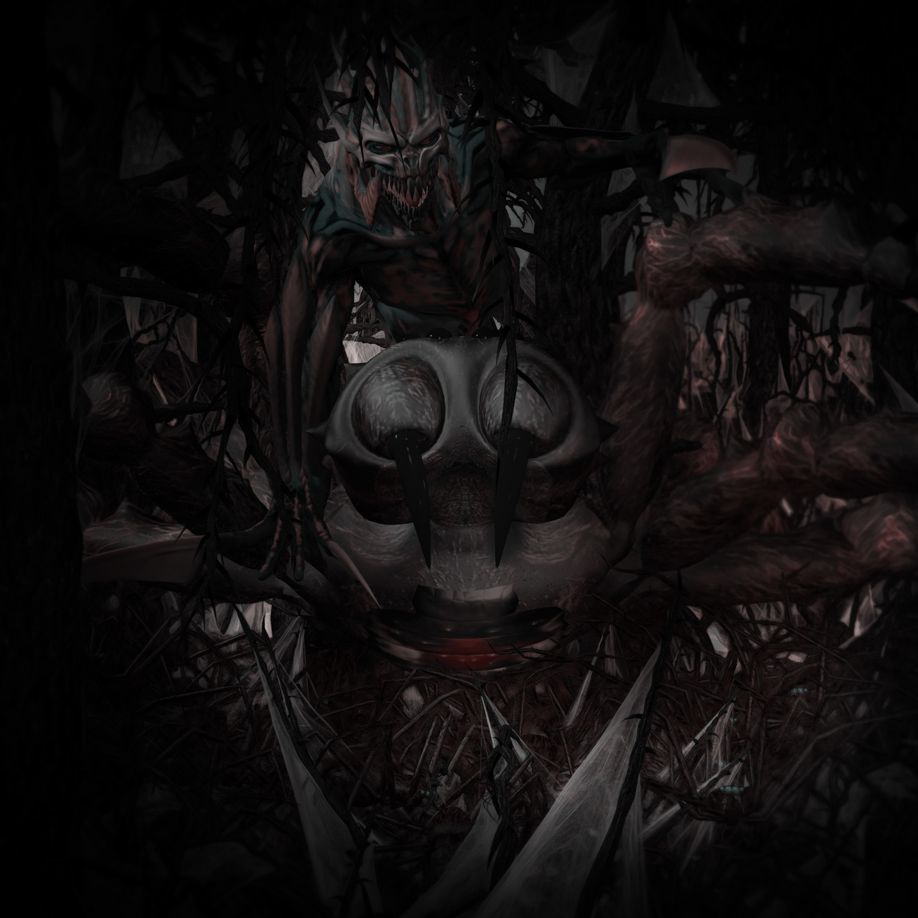 Horror - Deep in the Sylvanian Thickets by kukri