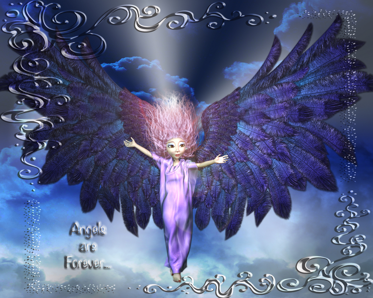 Angels Are Forever... by Goldenthrush