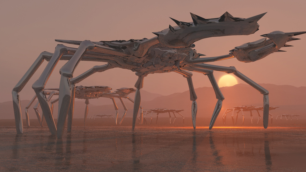 Empire of the Crustaceans by rustic01