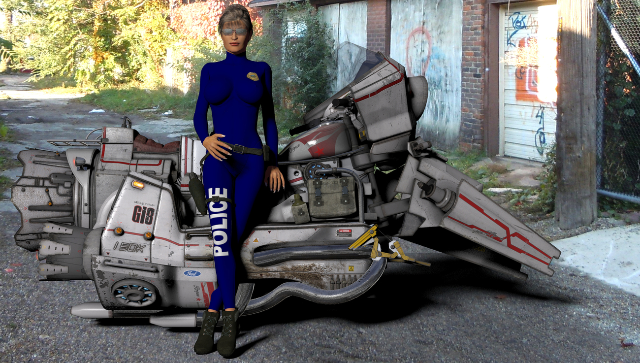 LADY COP by BKE