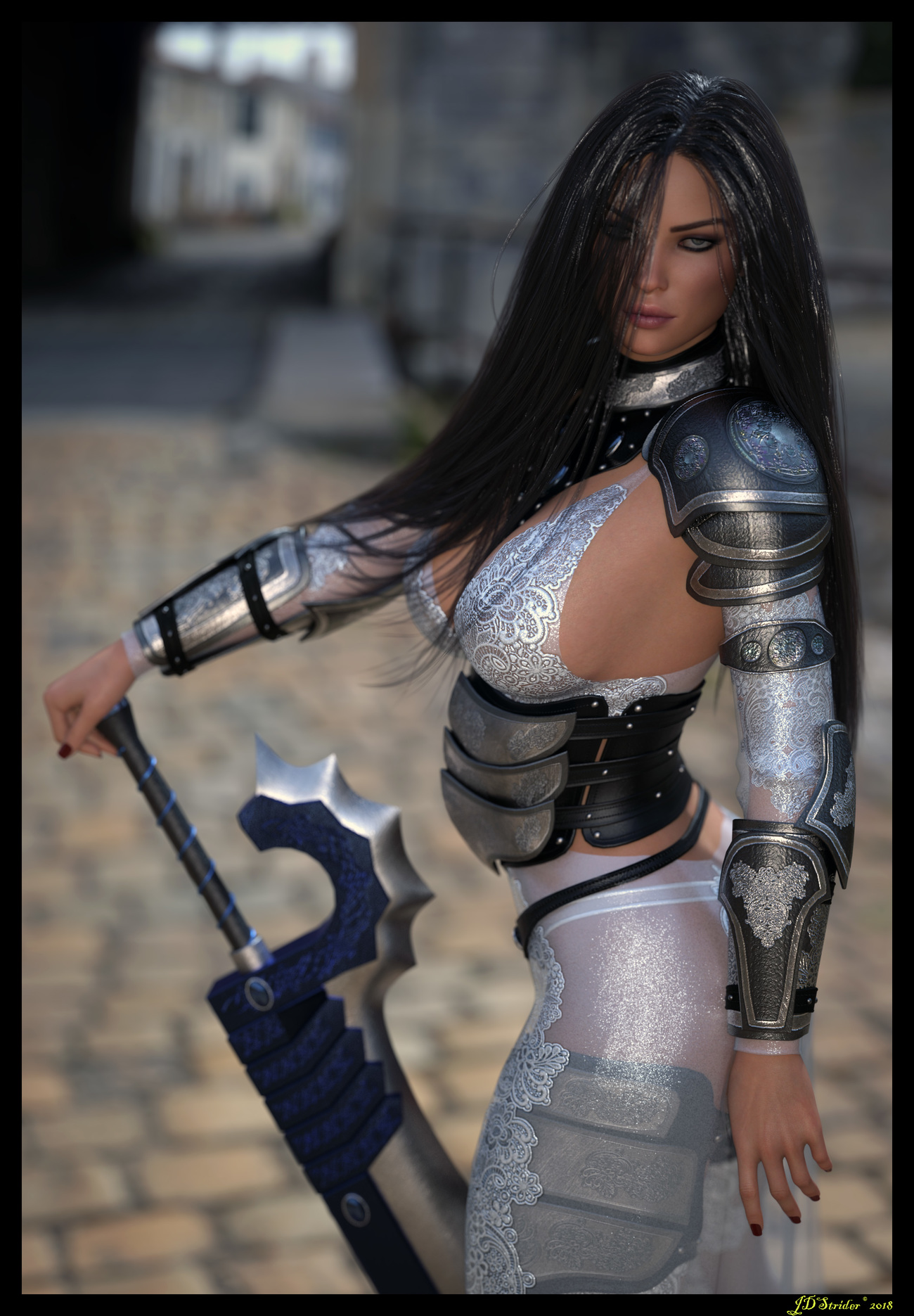 Yvette - Warrior of Dusk