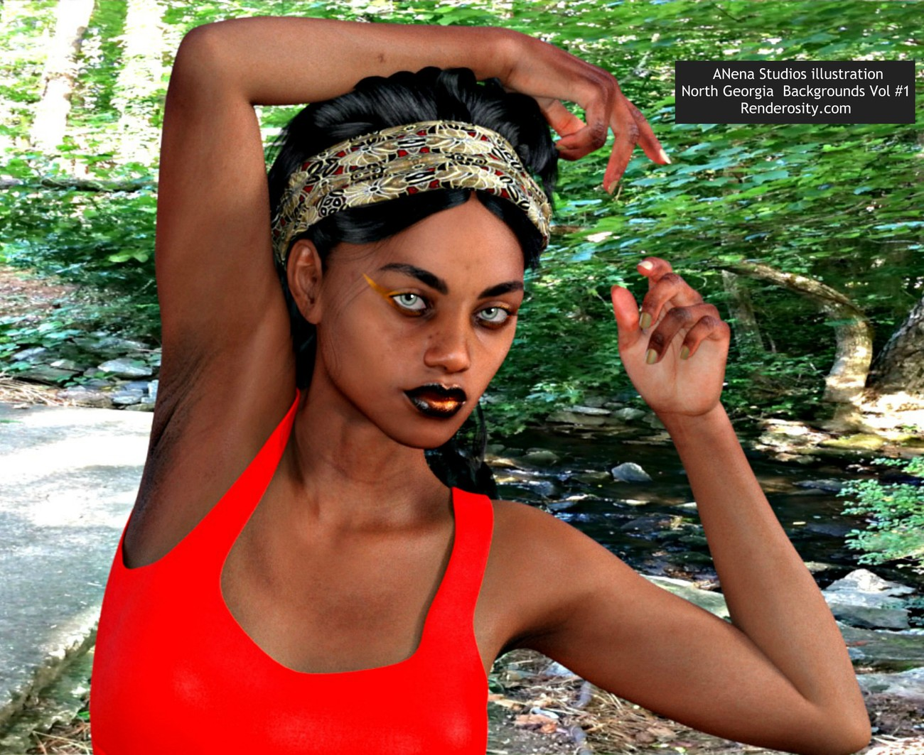 Imani By the Creek by ANeNa