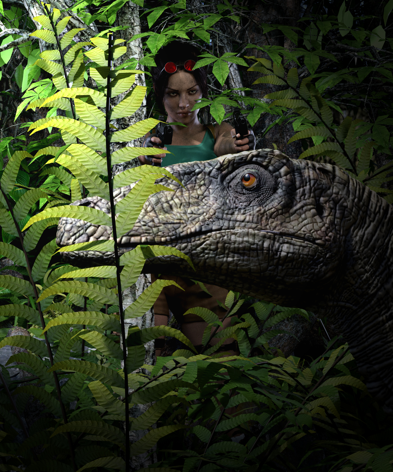 Clever Girl by Fenris9