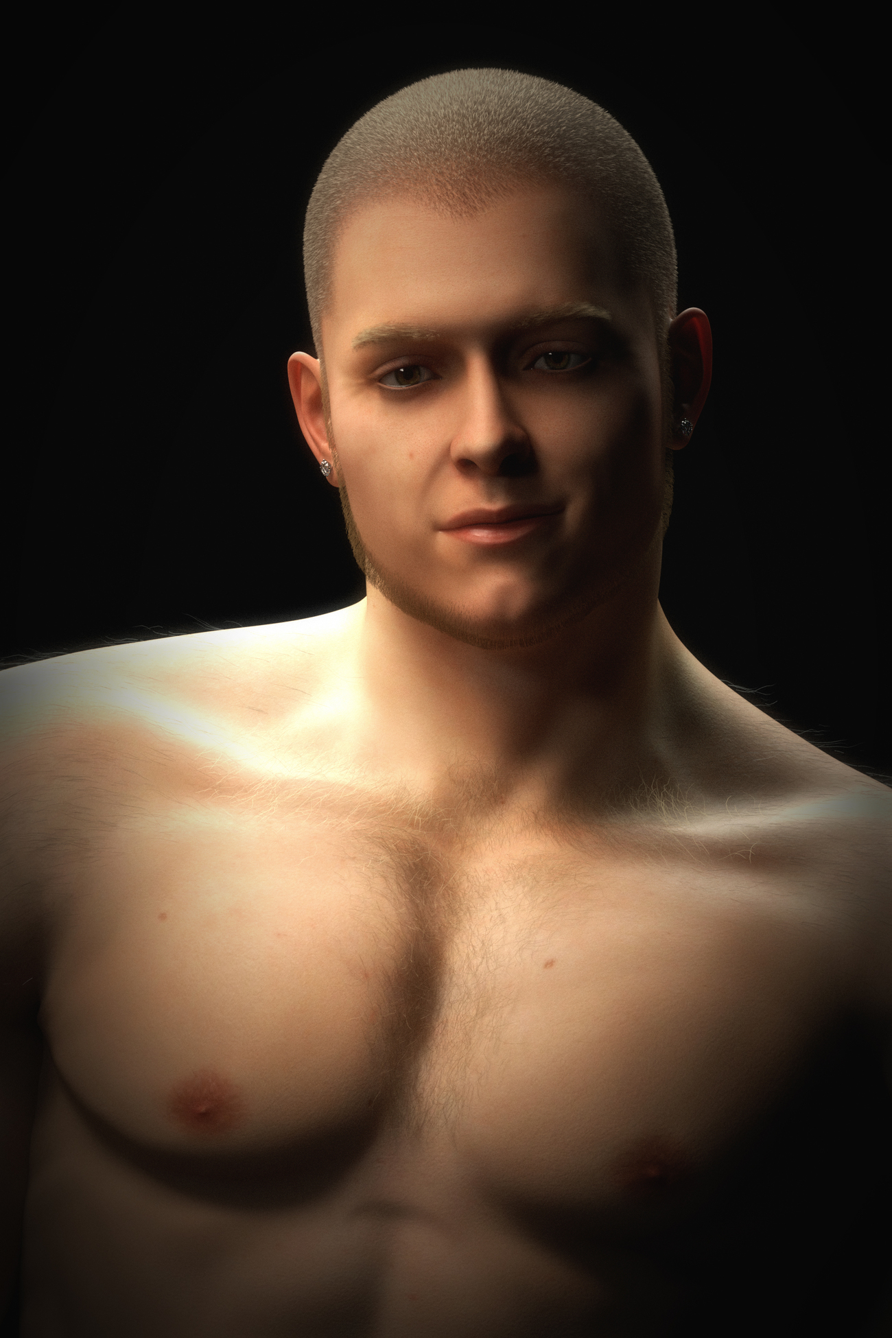 Topher Head Shot by evilded777