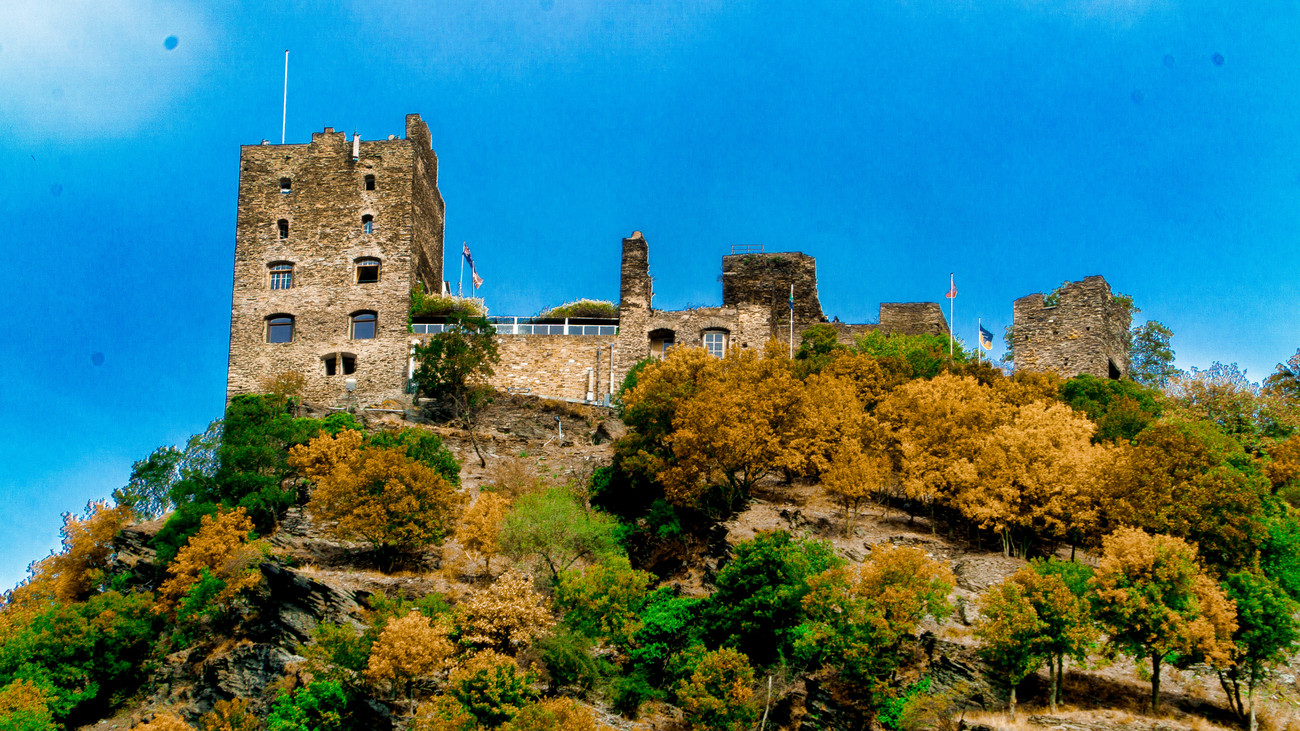 Castle on the Hill by EJD64