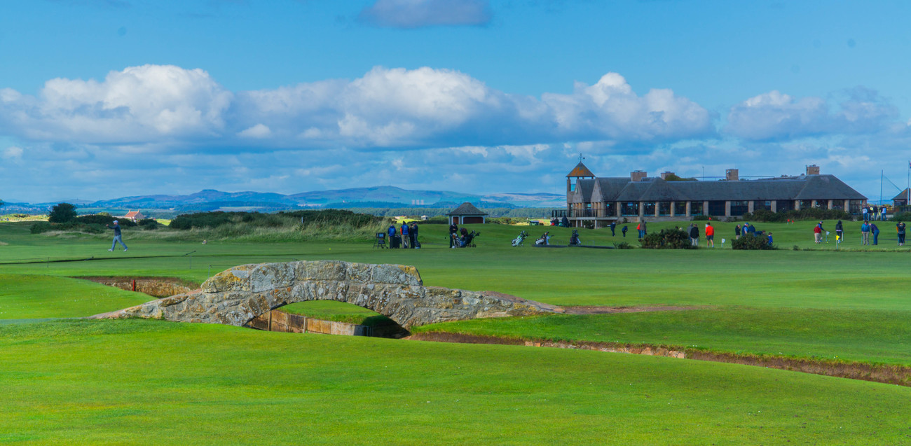 The Swilcan Bridge on the Old Course by EJD64