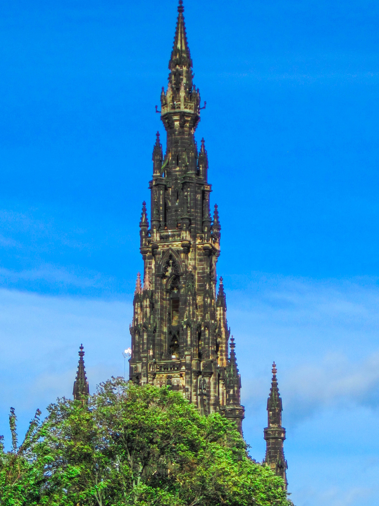 Walter Scott Monument by EJD64