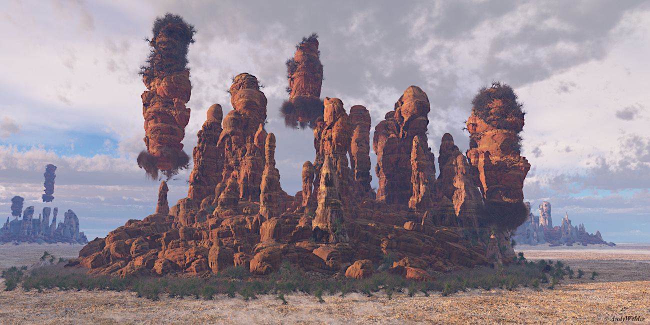 Koppies from space by AndyWelder