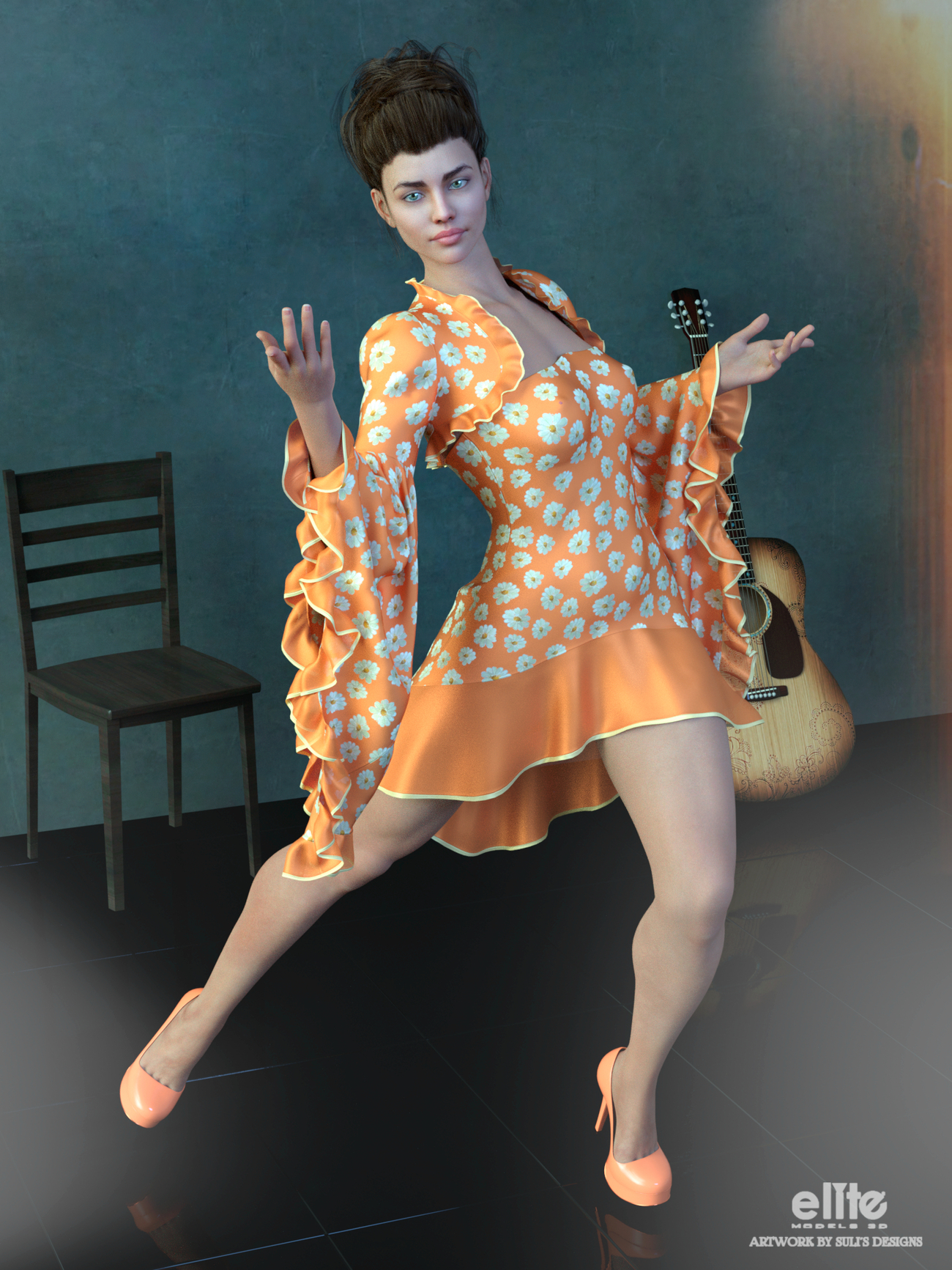 Flamenco Nights for Lully by SulisDesign by EliteModels3D
