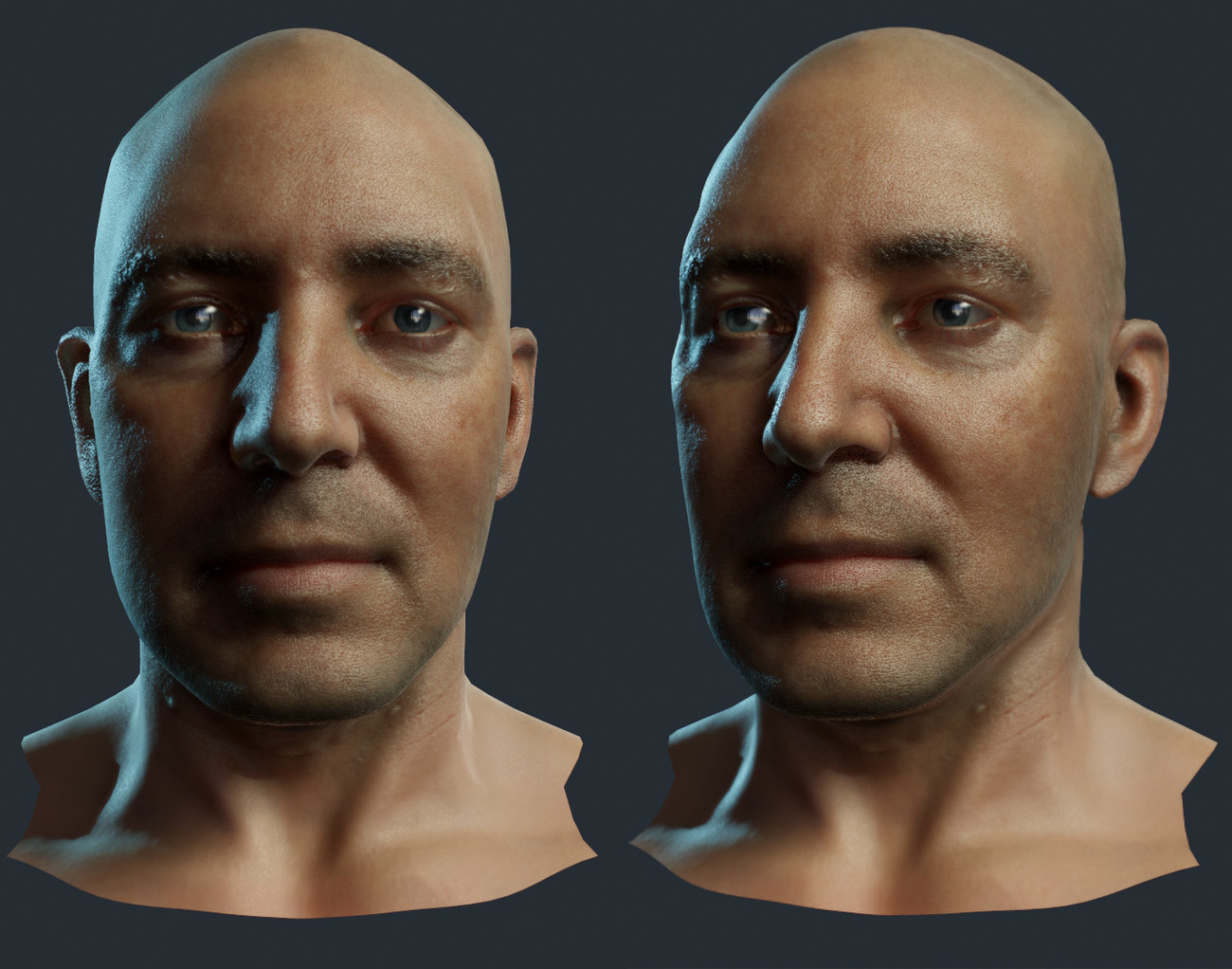 Just Cause 4 world sim head example. by Teyon