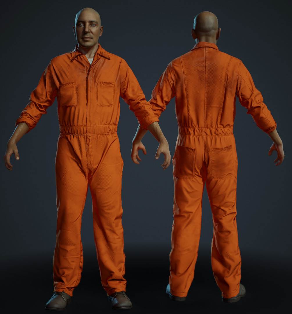 Prisoner World Simulation Character for Just Cause by Teyon