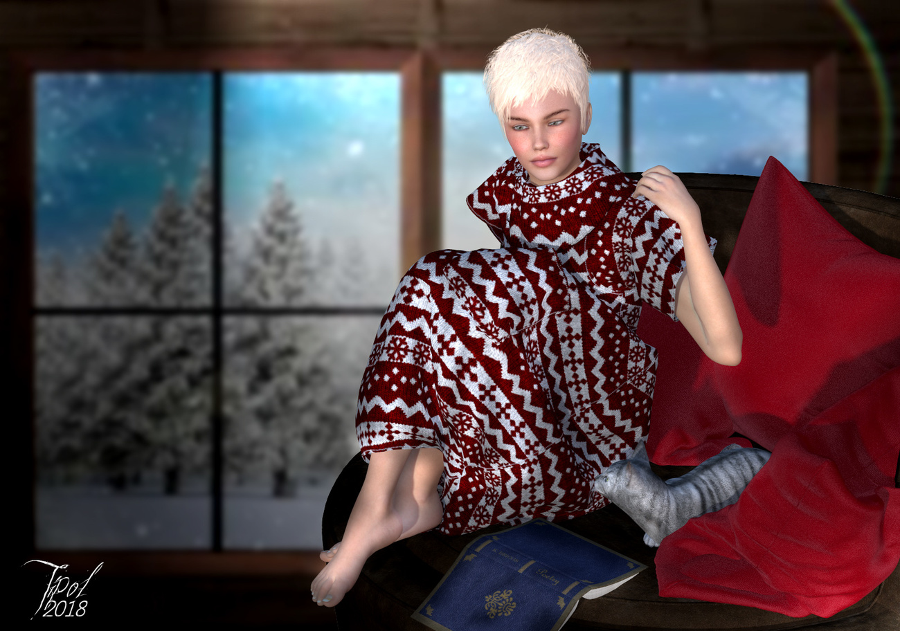 Winter by Tipol