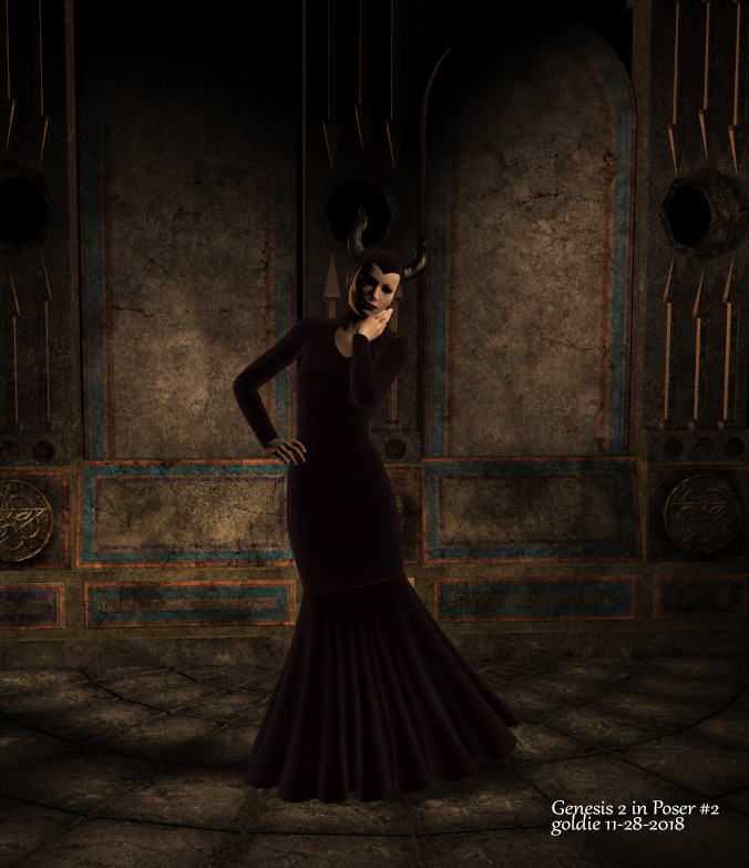 G2 in Poser 11 by goldie