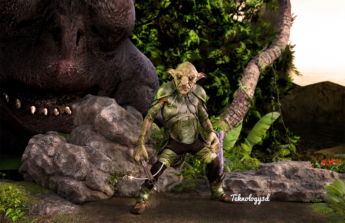 Troll Land by teknology3d