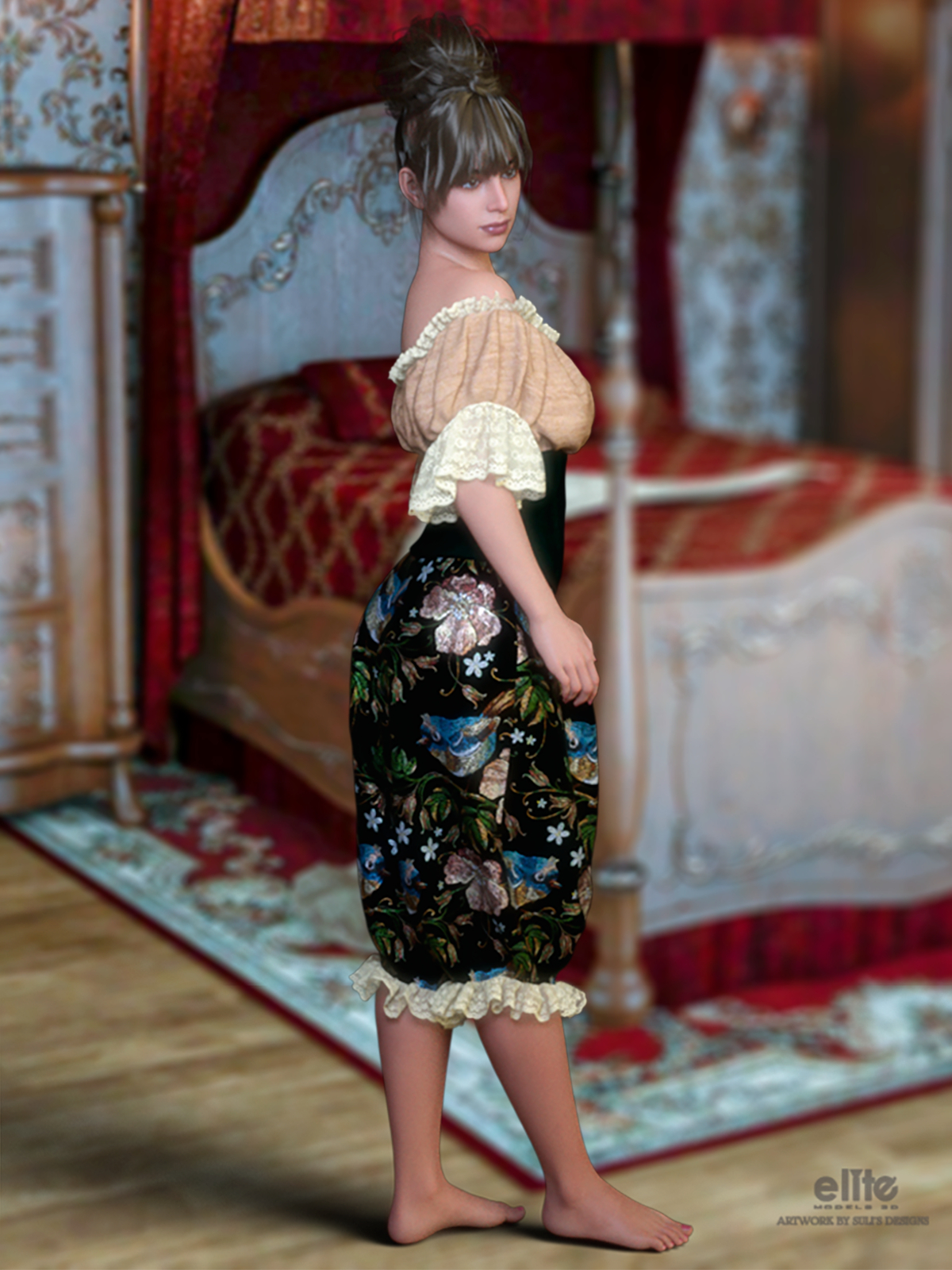 Private Moments for 3-DArena by SulisDesigns by EliteModels3D