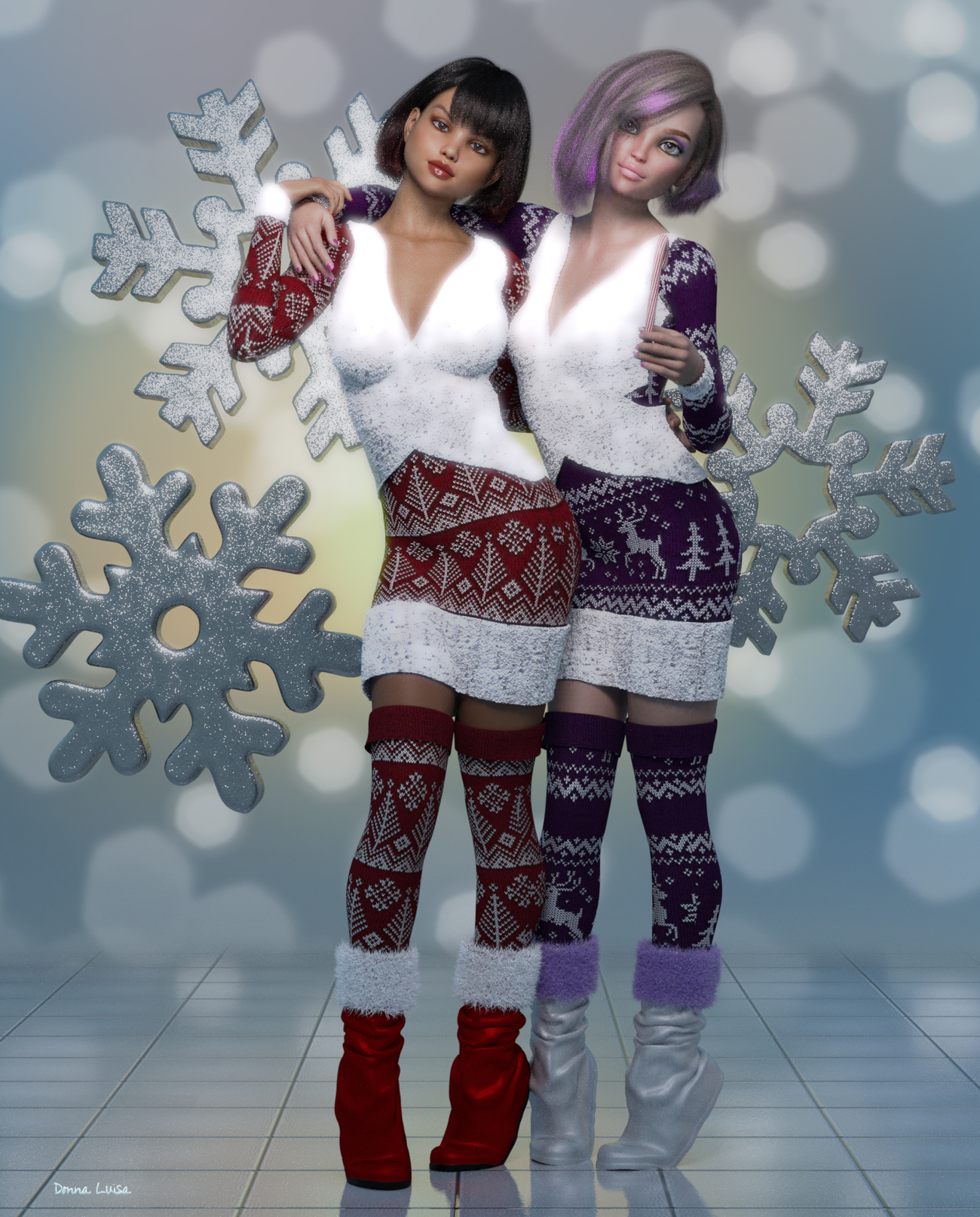 Snow Girls