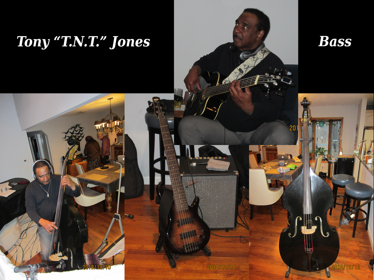 Home Recording 3 of 4 Tony TNT Jones by adorety