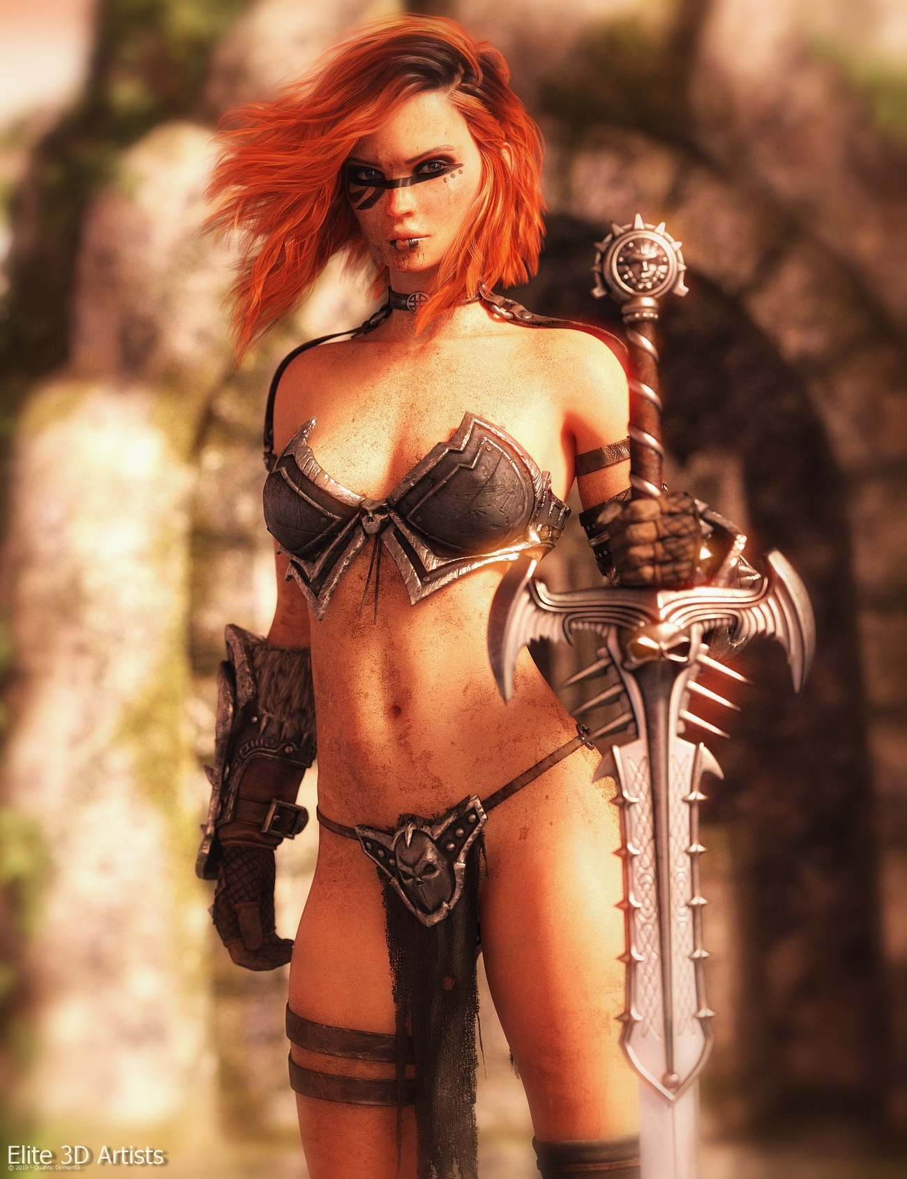 Promo Render - Solveig for Genesis 8 Female by quanticdementia