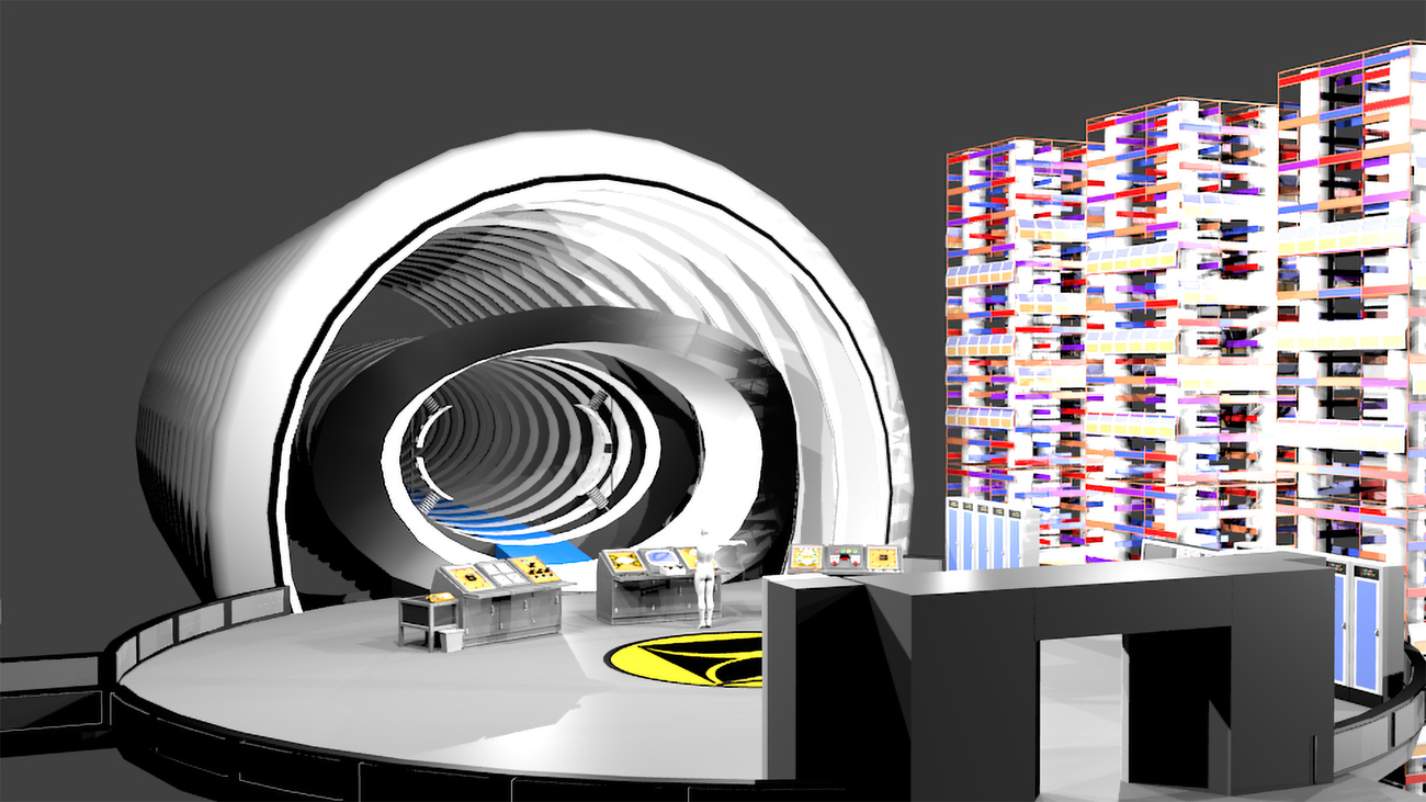Time Tunnel WIP by Howy2012