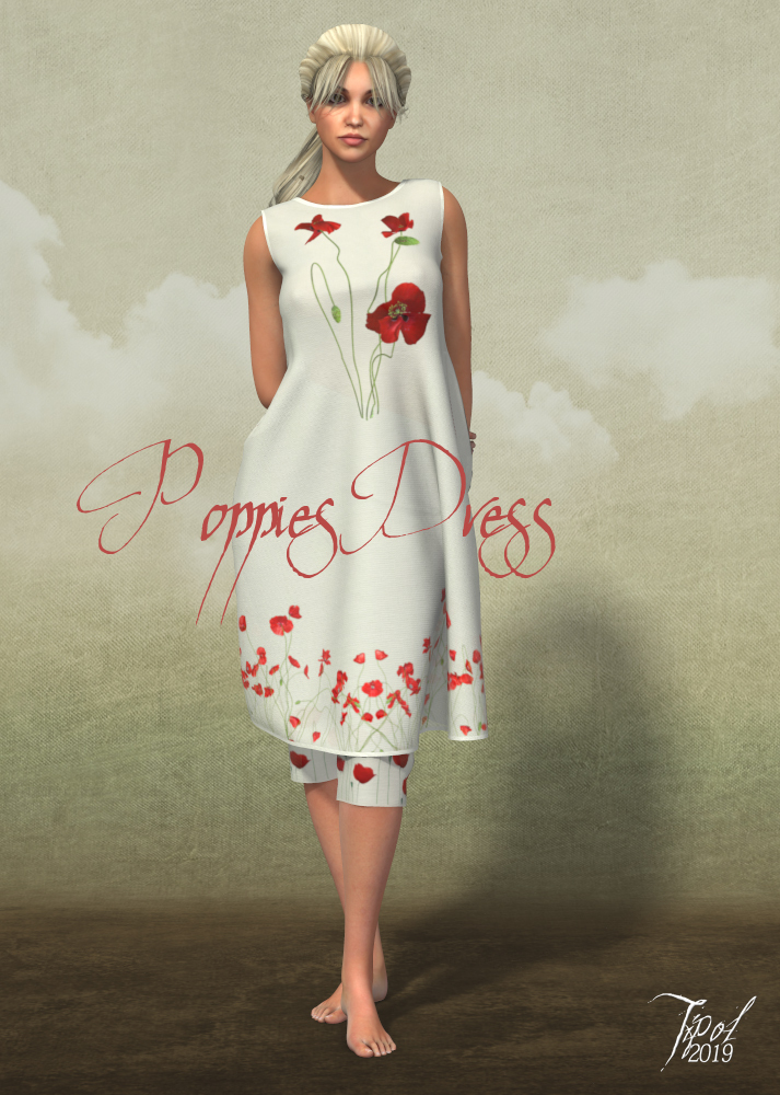 PoppiesDress for la Femme by Tipol
