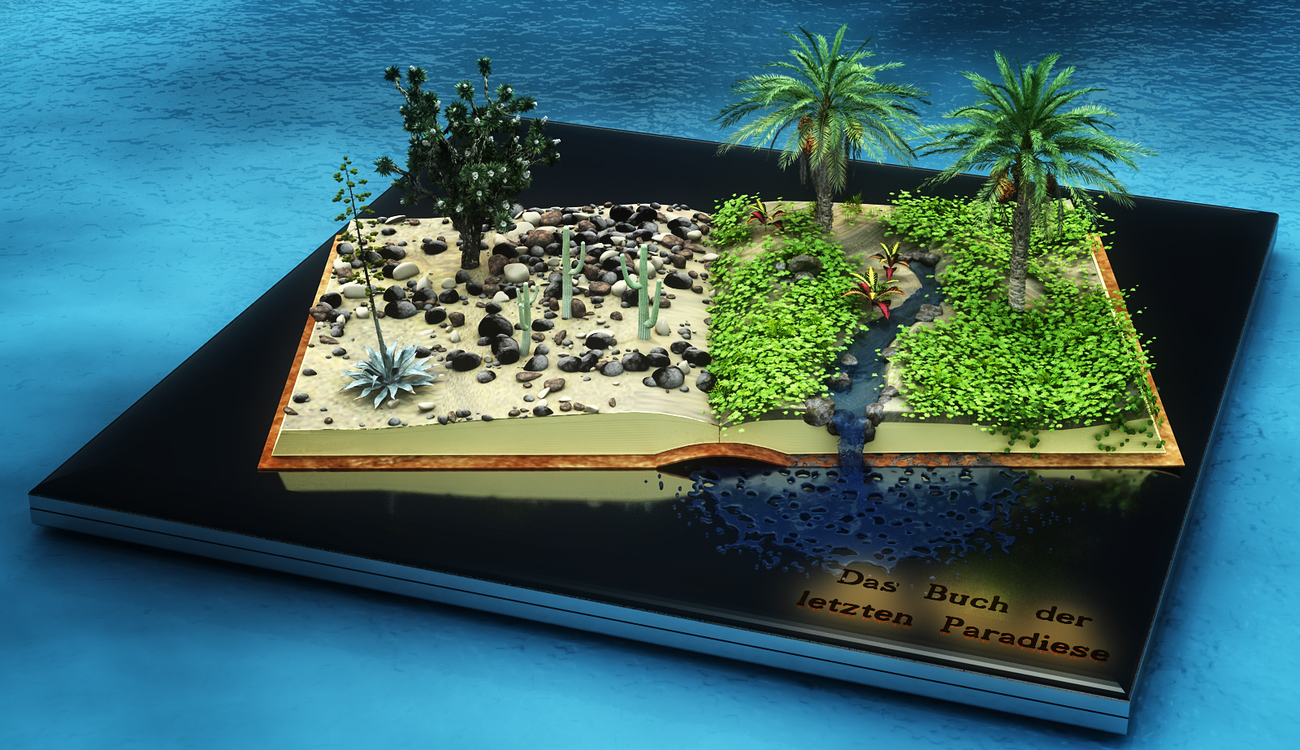 Mini Scene (6) / The book of the last paradises