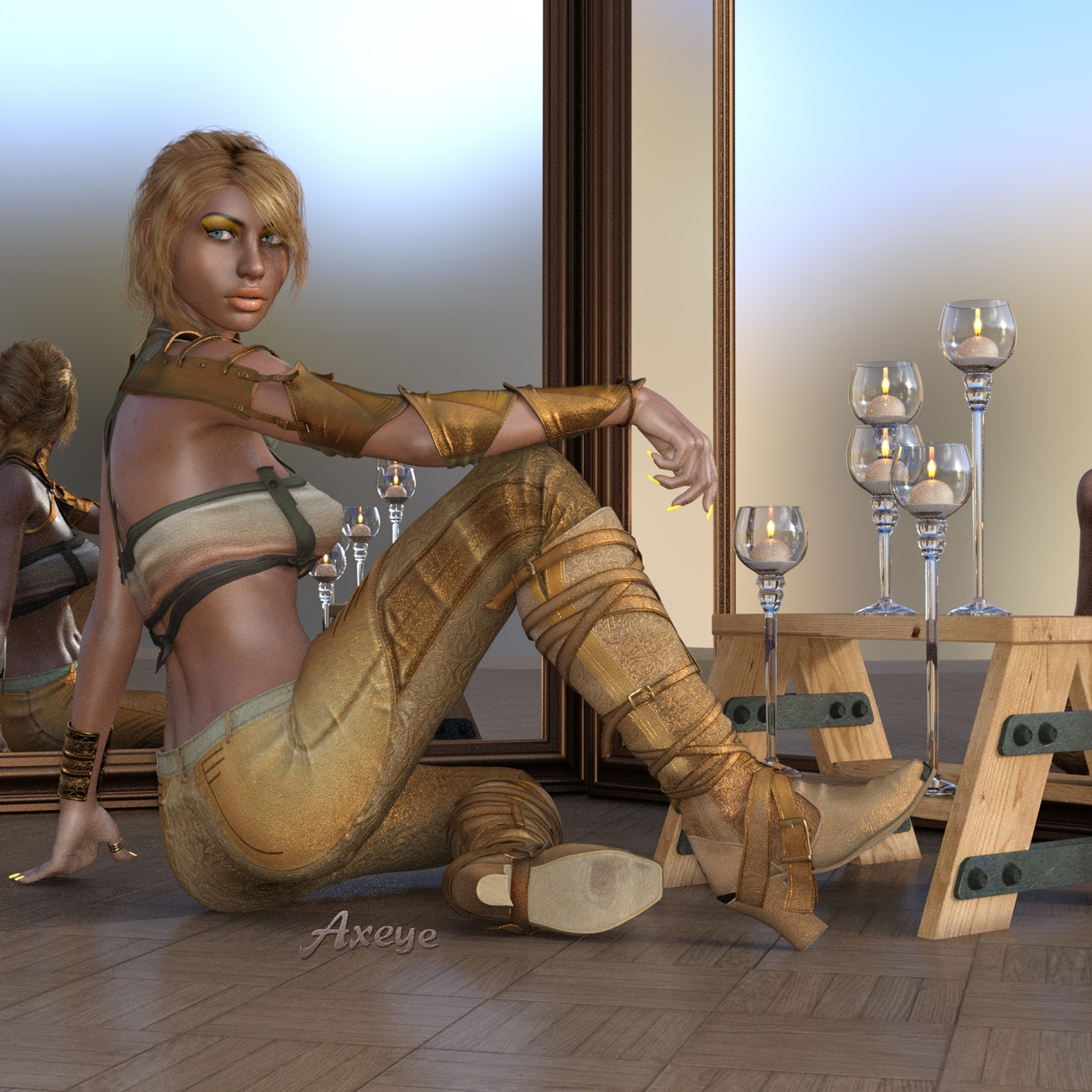 Waiting Game by Axeye