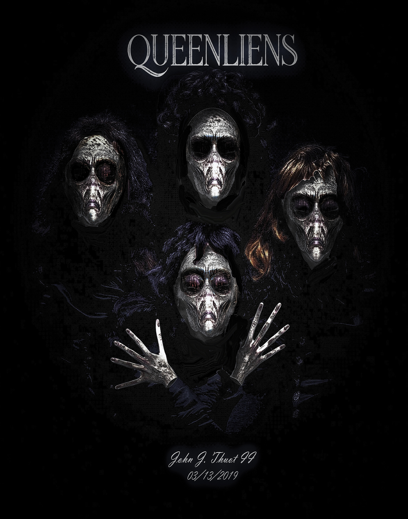 Queenliens! by Ragtopjohnny