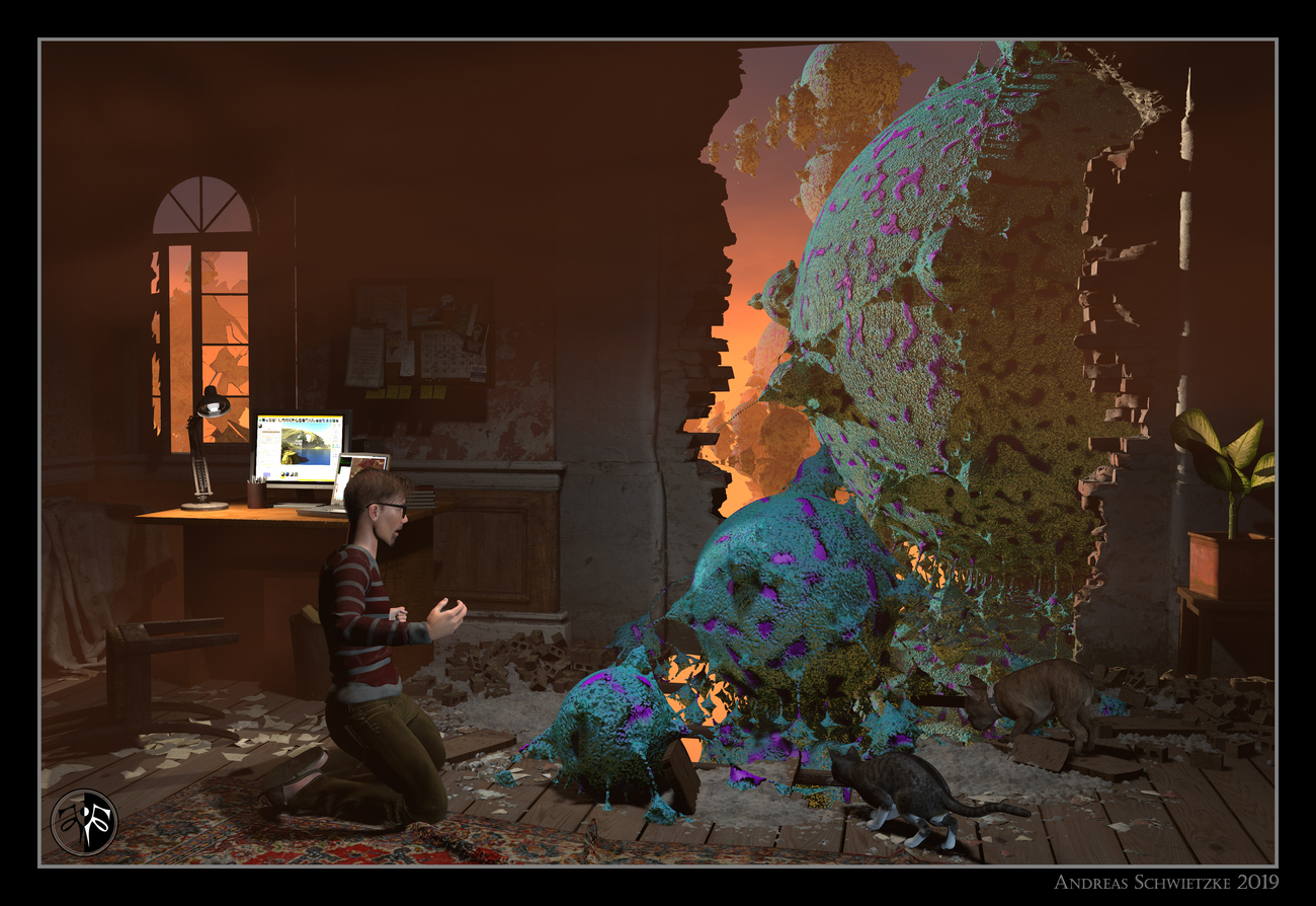 The breakthrough into the fractal worlds by arteandreas