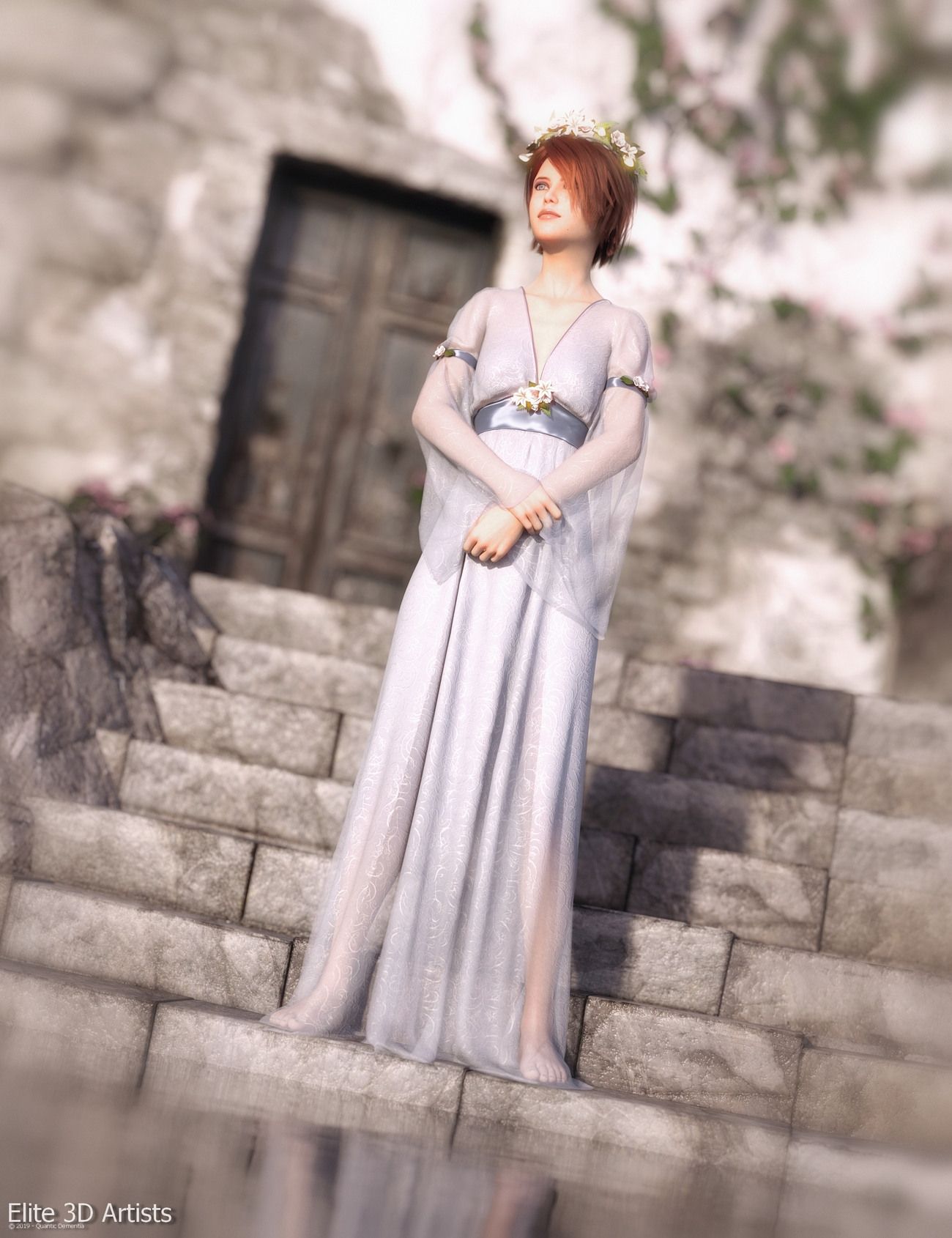 Promo Render - dForce Dianthe for Genesis 8 Female by quanticdementia