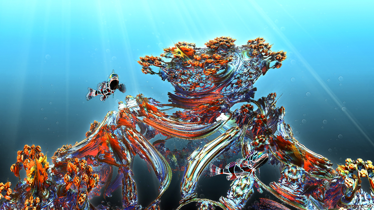 Coral Dream Time by rhol_figament