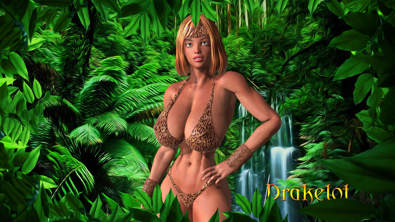 Jungle Jane for (Sparrow) by DRAKELOT