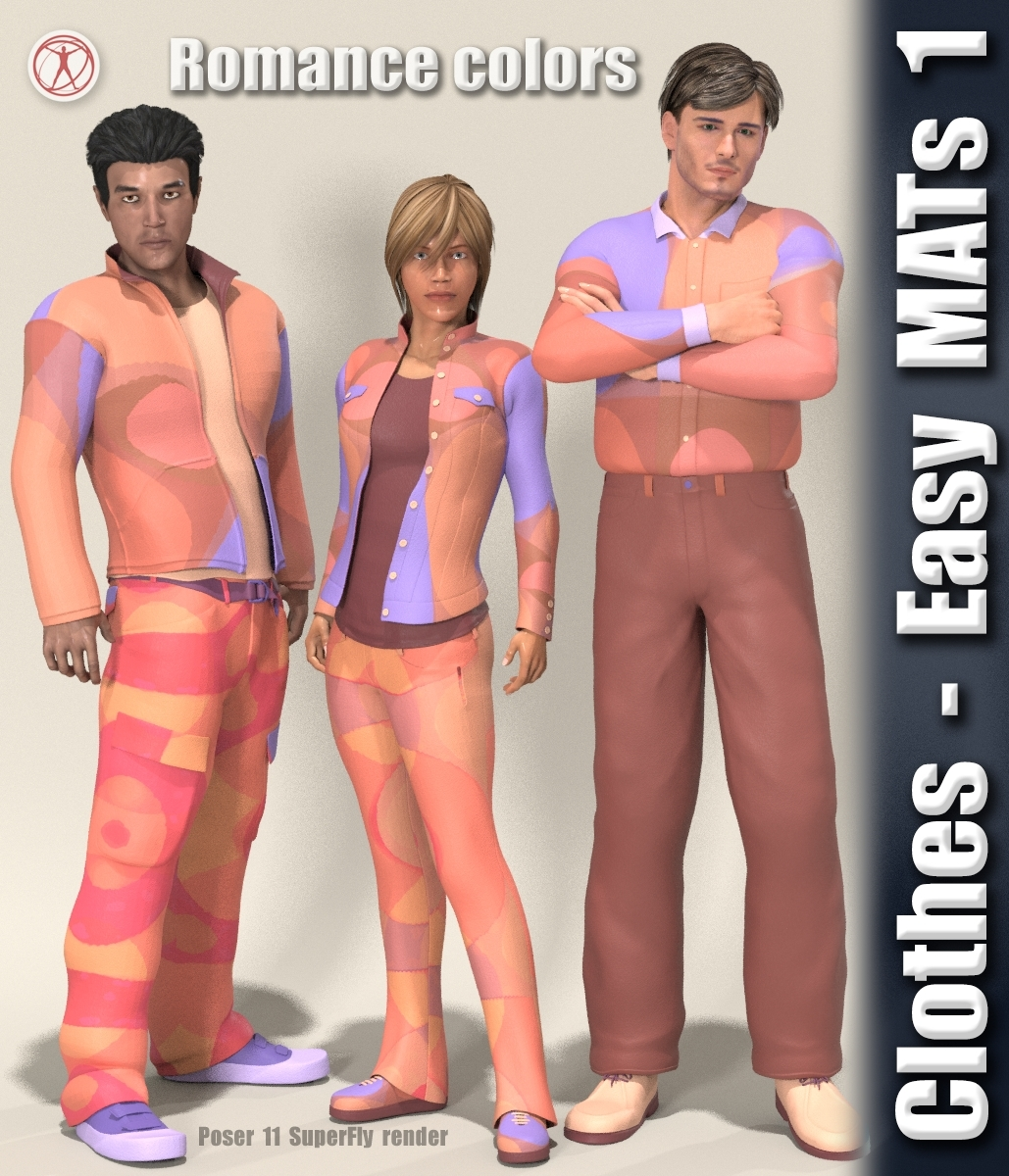 Clothes - Easy MATs 1 by 3Dream