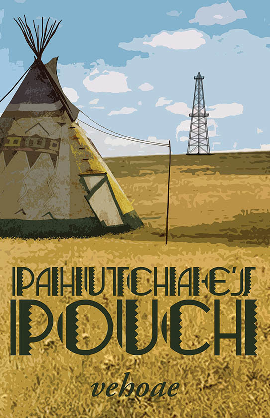 PAHUTCHAE'S POUCH ~ Cover Art and Design for vehoa by AidanaWillowRaven