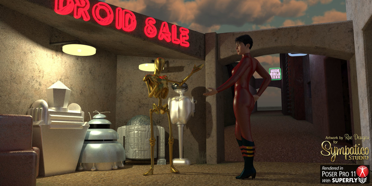 Mean Streets for Poser by Rae_Designs