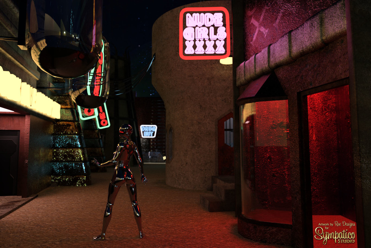 Mean Streets for Daz by Rae_Designs