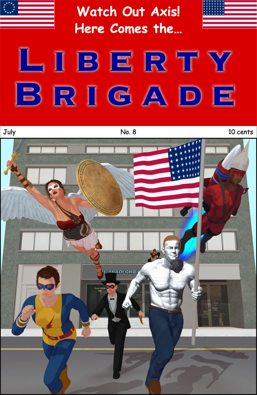 The Liberty Brigade! by starship64