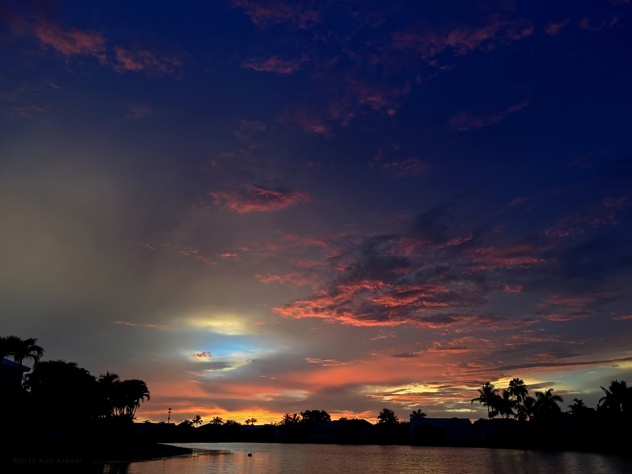 West Boca Sunset by TwoPynts