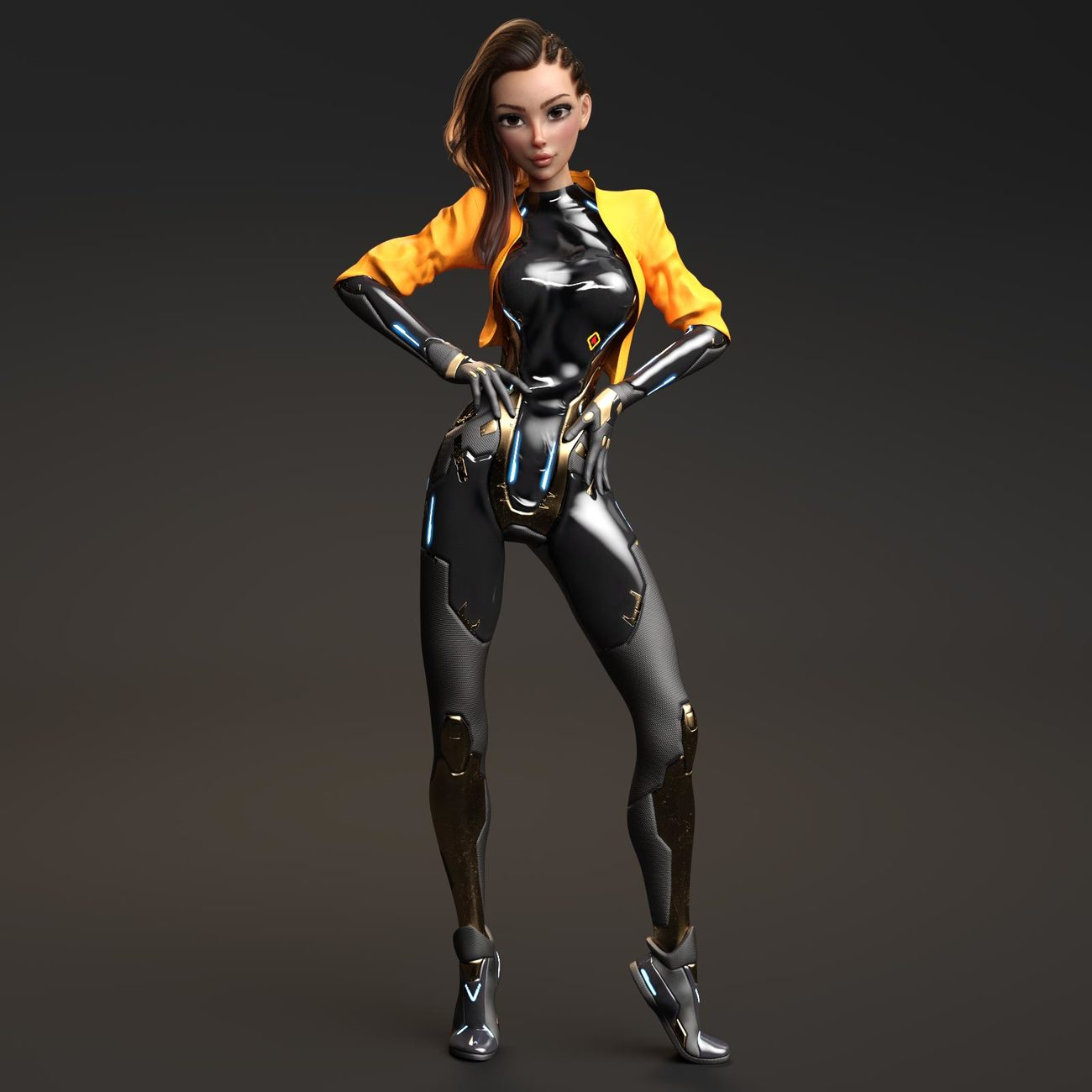 Material Addon for the Dalos Suit by benalive