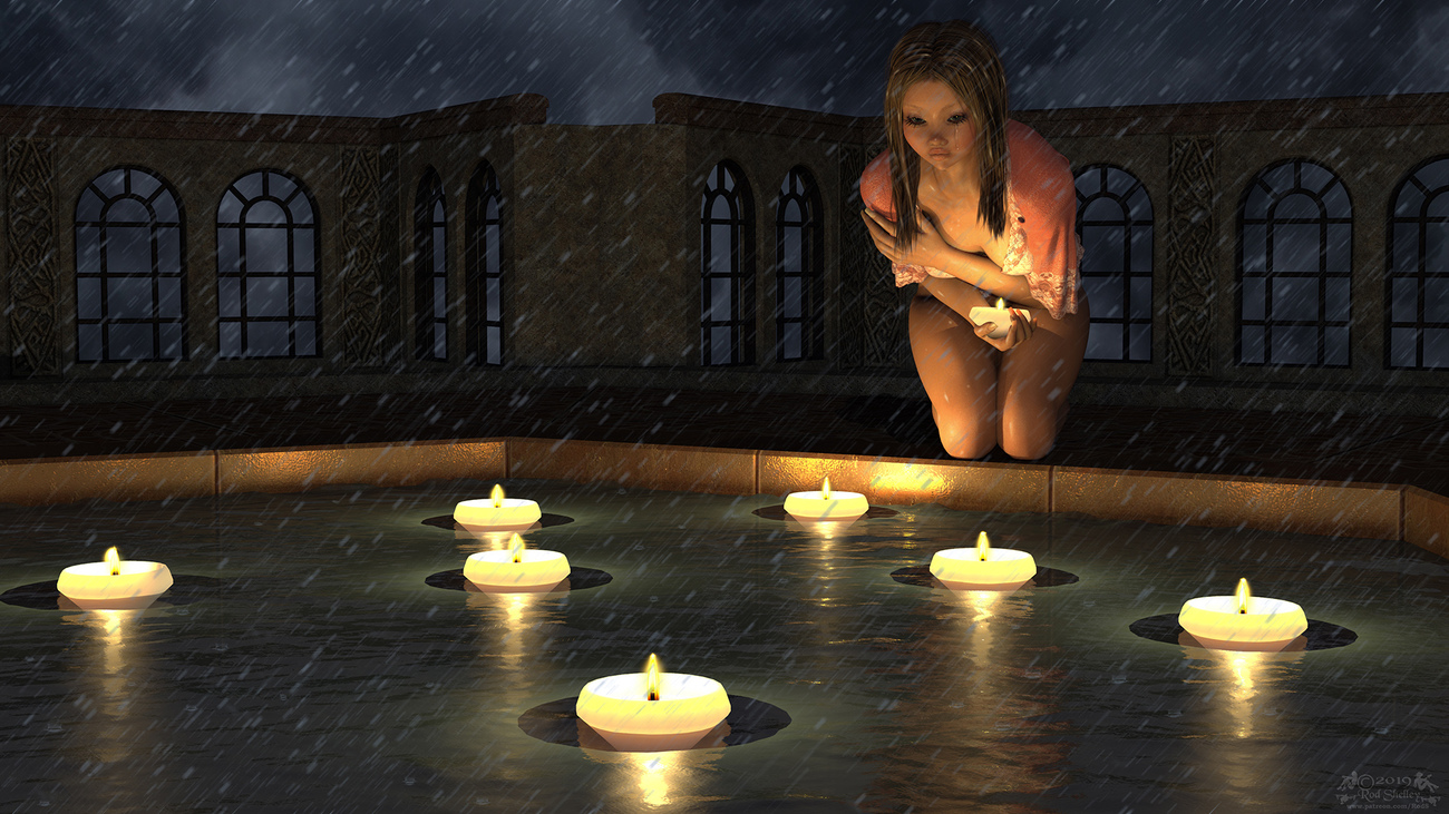 Candles In The Rain by RodS