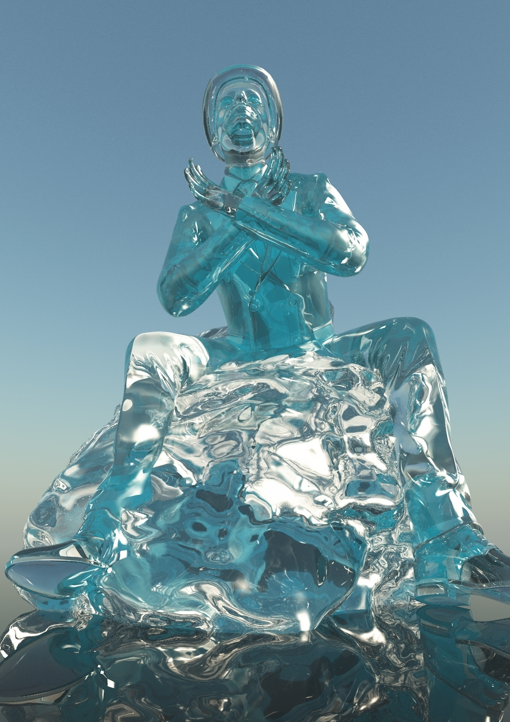 The Ice Man by rustic01
