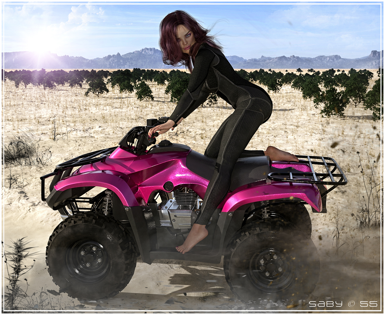 ATV Rides by Saby55