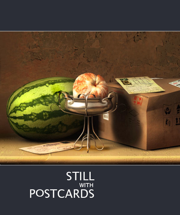 Still with Postcards