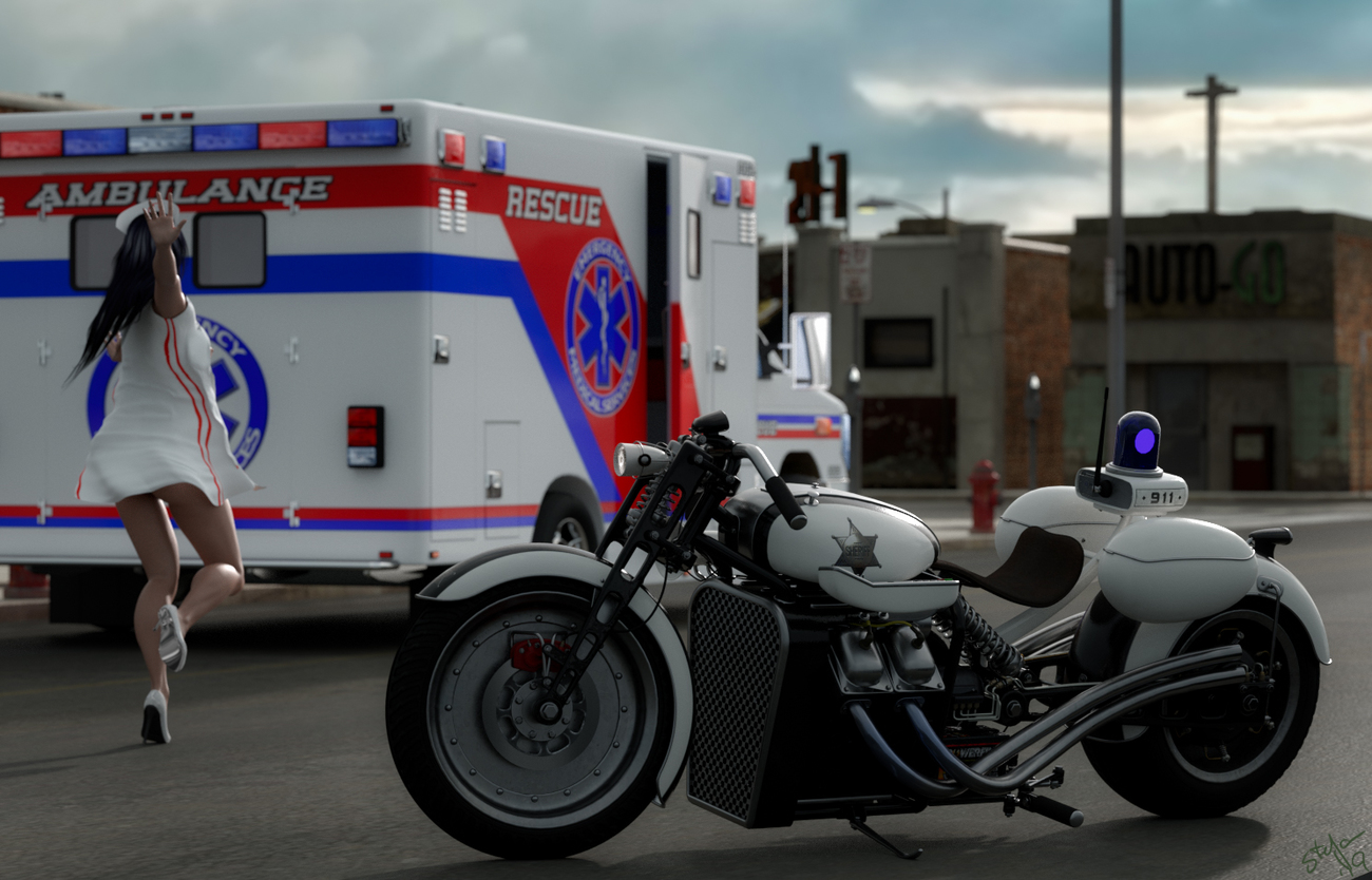 WIP - Hybrid Pursuit by Td3D for Poser 11 by Nagra_00_