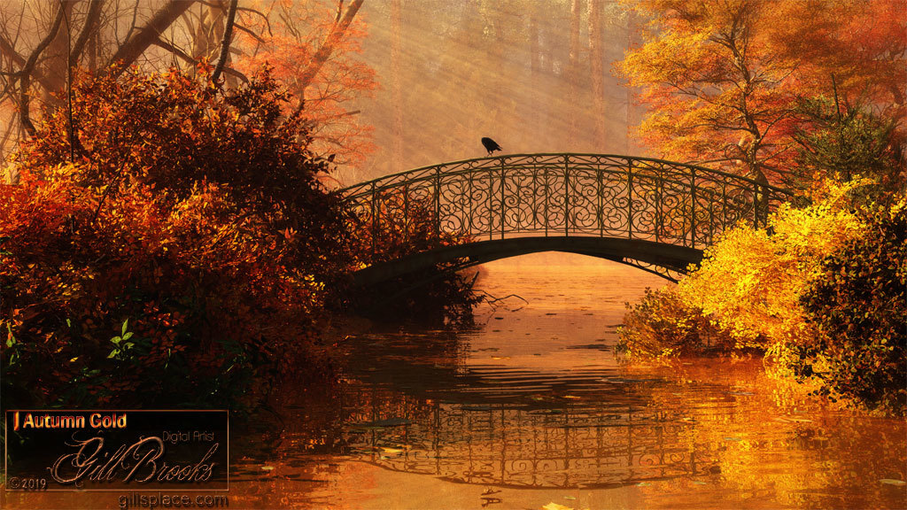 Autumn Gold by gillbrooks