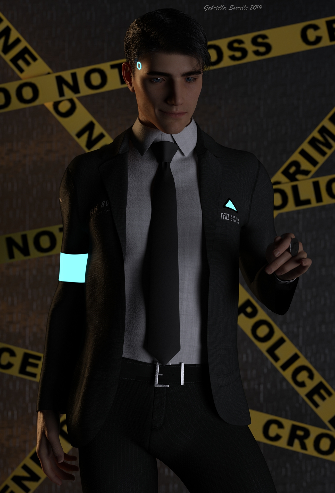 Connor by zombietaggerung