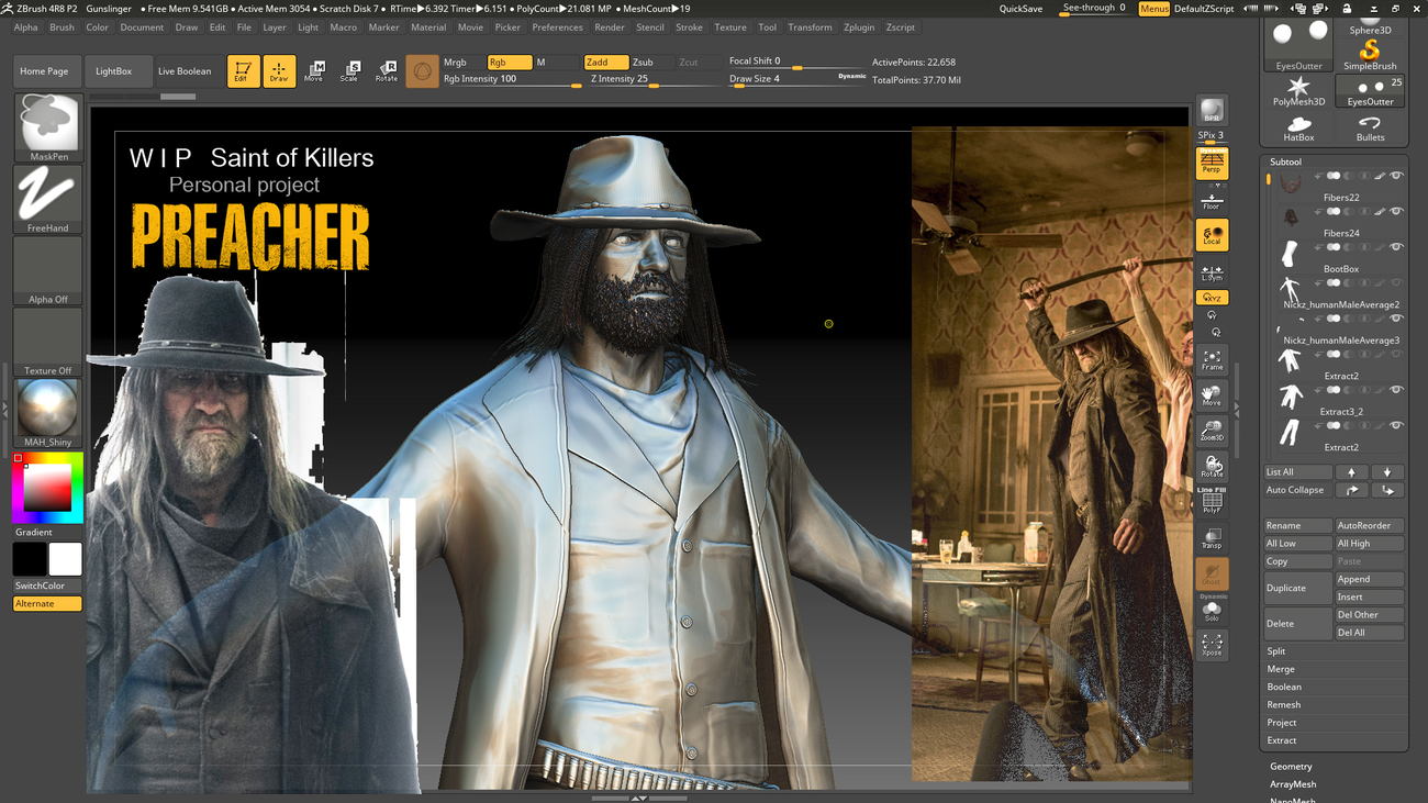 Saint Of Killers W I P