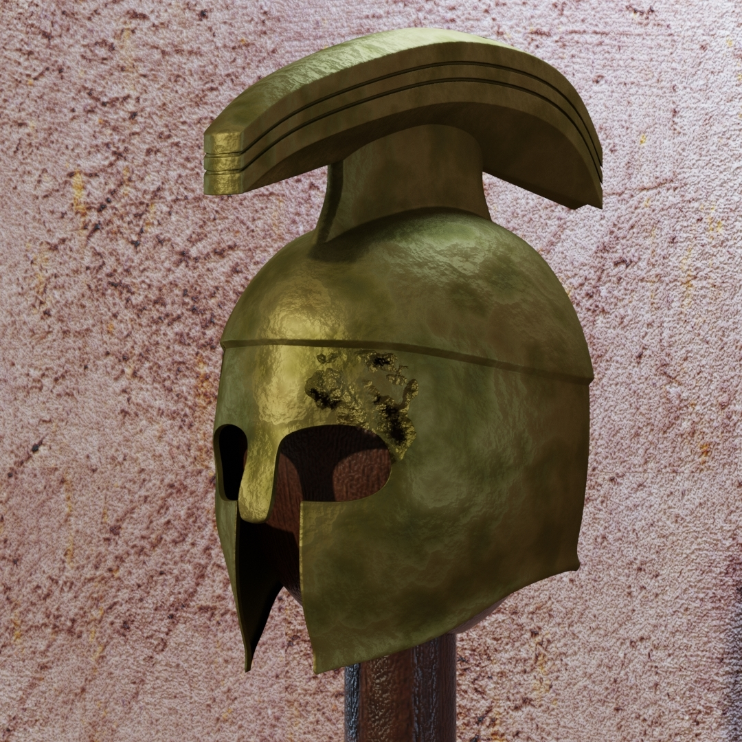 Casque ancien by pchef