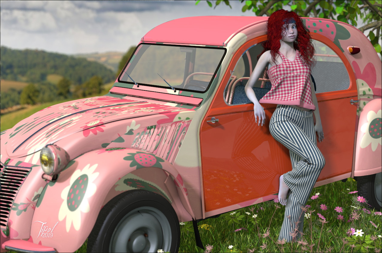 Seventies deuche by Tipol